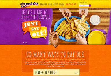 Jose Olé Website