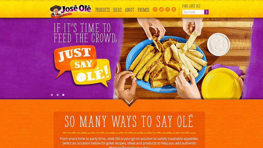 Jose Ole Website